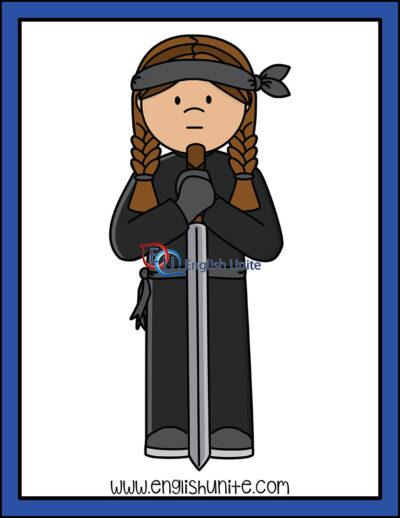 clip art - ninja