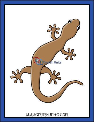 clip art - gecko