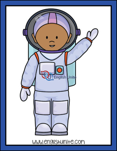 clip art - astronaut
