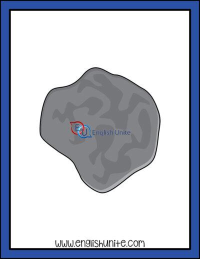 clip art - meteroid