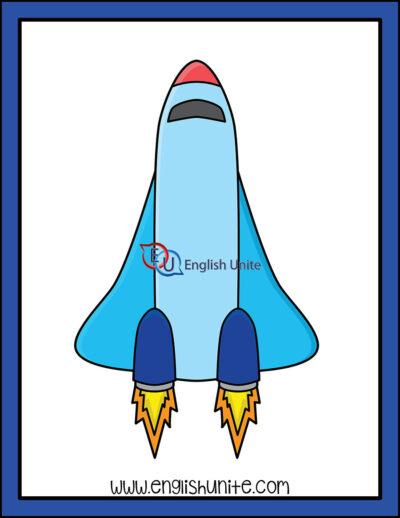 clip art - space shuttle