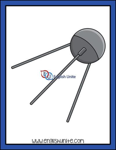 clip art - sputnik