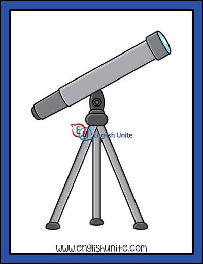 clip art - telescope
