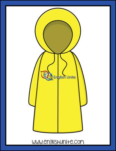 clip art - raincoat