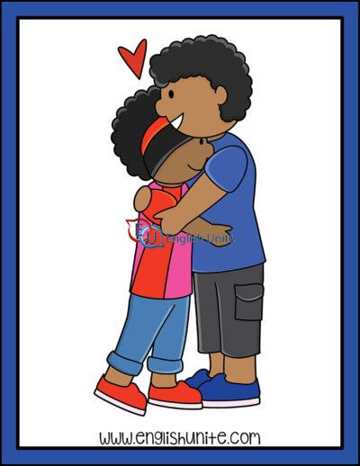 clip art - hug