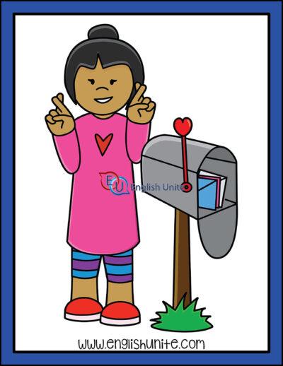 clip art - mailbox