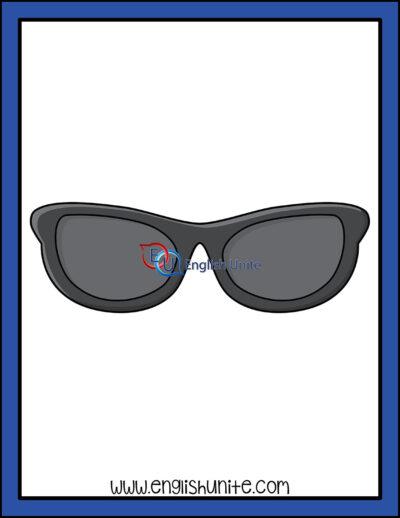 clip art - sunglasses