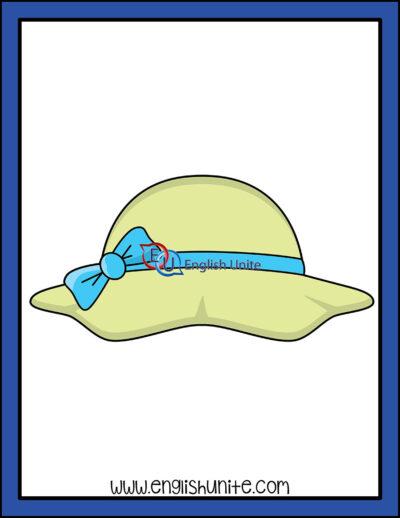 clip art - summer hat