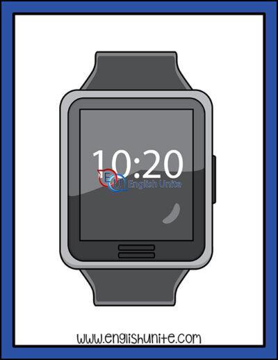 clip art - watch