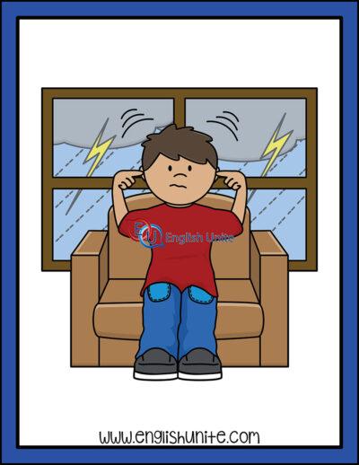 clip art - thunder