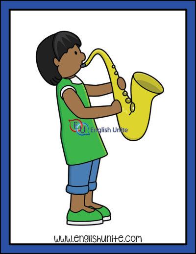clip art - jazz