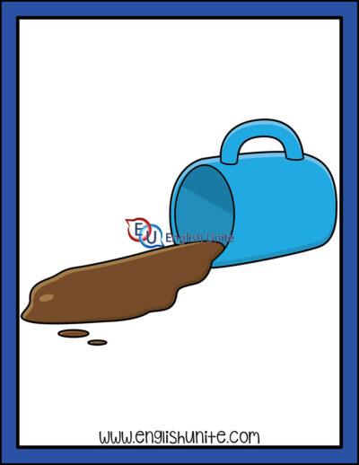 clip art - spill