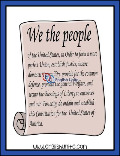 clip art - constitution
