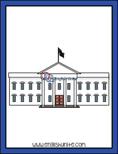 clip art - white house