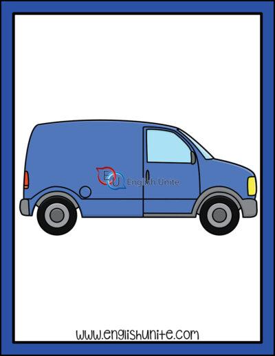 clip art - van
