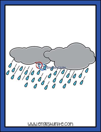 clip art - rain storm