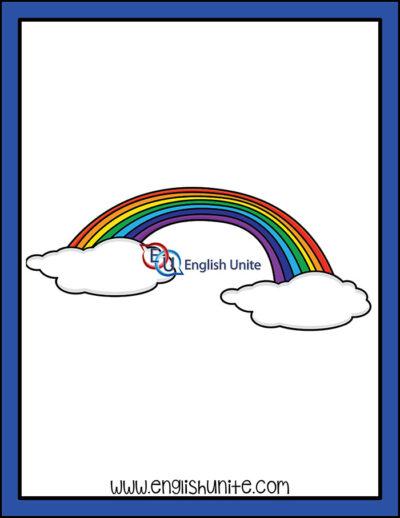 clip art - rainbow