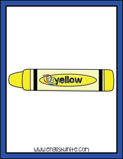 clip art - yellow