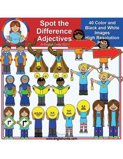 clip art - adjectives STD