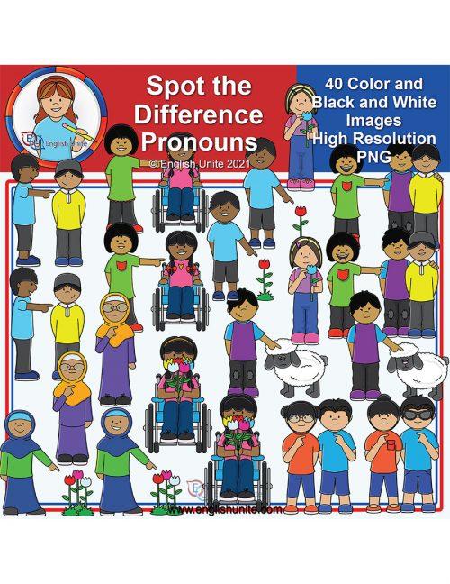 clip art - STD Pronouns