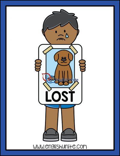 clip art - lost
