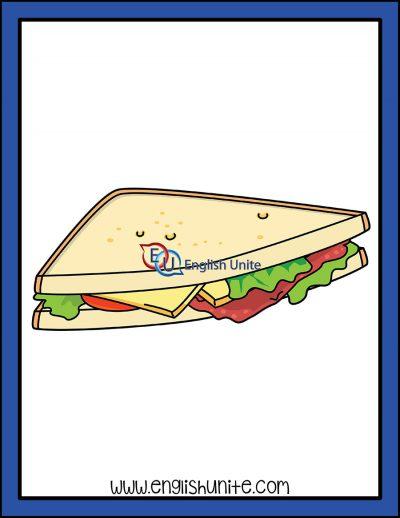 clip art - sandwich