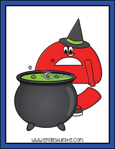 clip art - magic e character 5