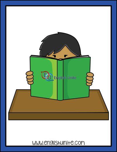 clip art - no pretend reading