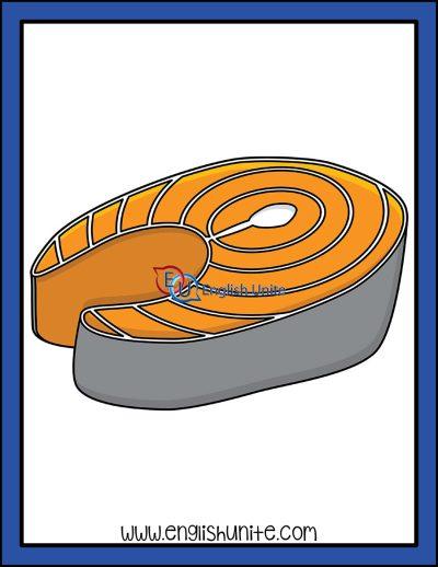 clip art - salmon