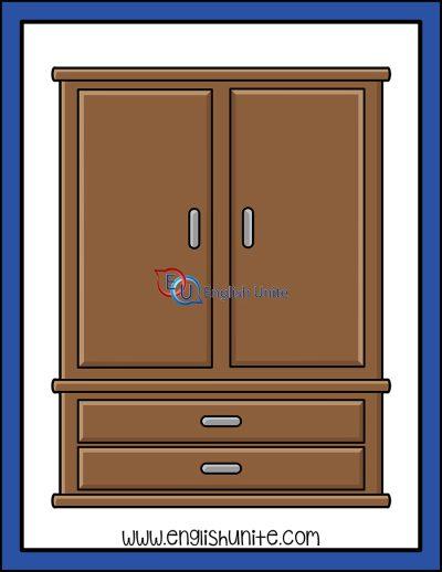 clip art - cupboard