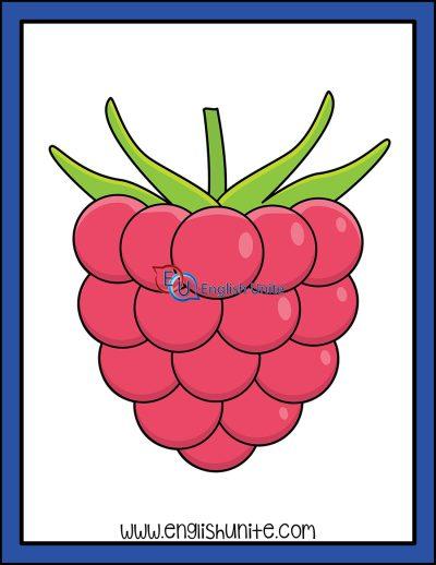 clip art - raspberry