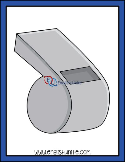 clip art - whistle