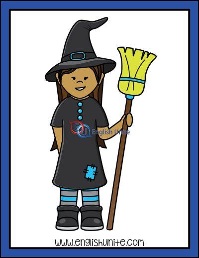 clip art - witch