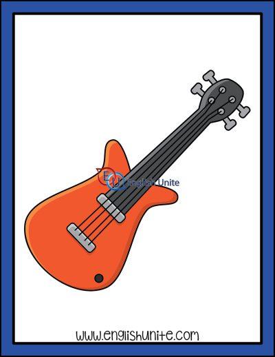 clip art - guitar