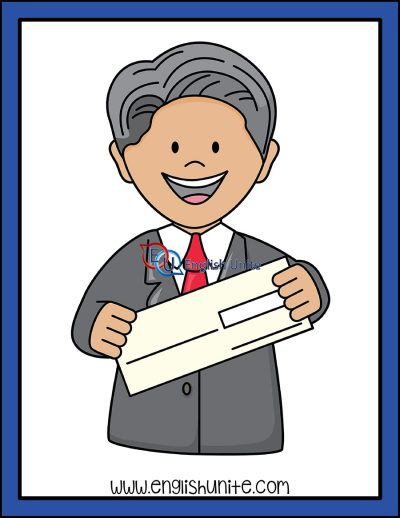clip art - blank cheque